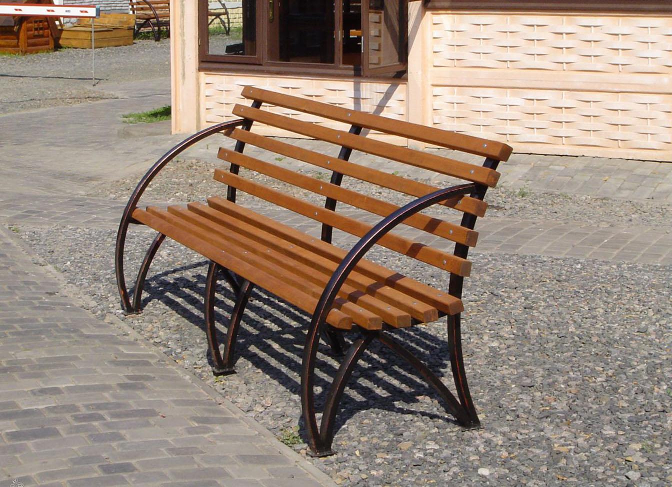 Садовая скамейка своими руками советы, примеры, фото 16