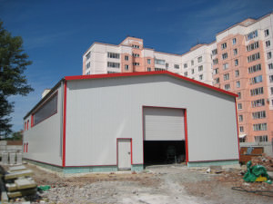 In Order To Make A Garage Of Sandwich Panels Yourself, The Following  Materials Will Be Required:
