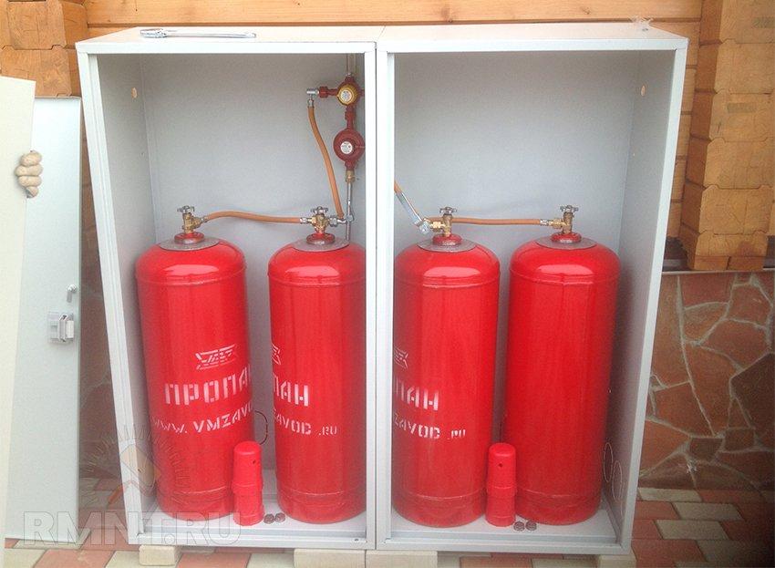 Как установить газ на даче своими руками 51
