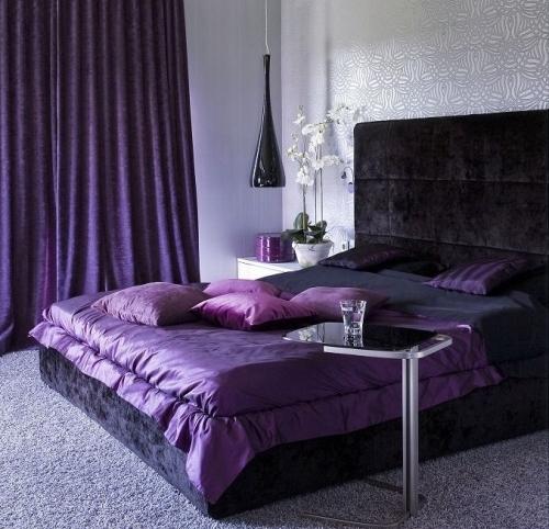 Bilik Tidur Warna Purple Desainrumahid