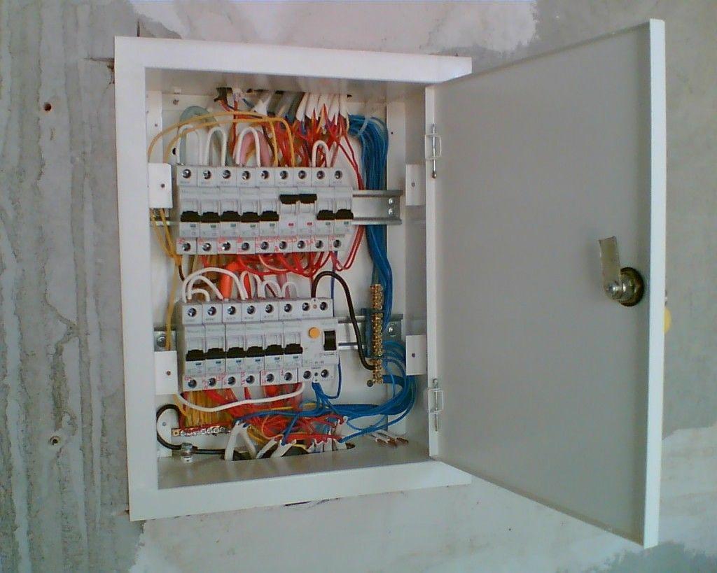 Как установить электрощиток в квартире своими руками 22