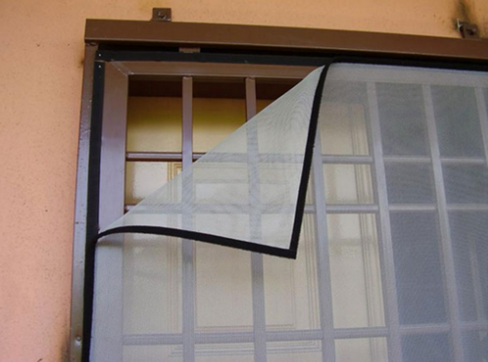 Москитная сетка на пластиковую дверь своими руками 97