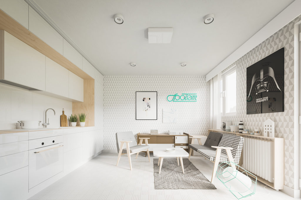 Køkken design 9 meter