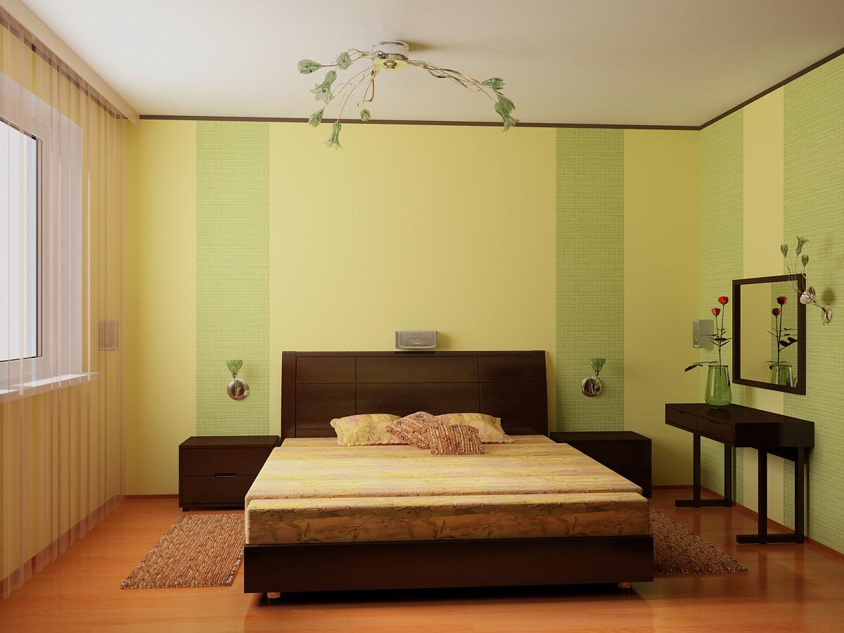 Простой дизайн спальни своими руками: видео-инструкция по красивому 69