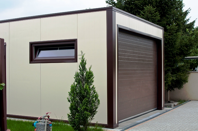 How To Build, Make A Garage Of Sandwich Panels