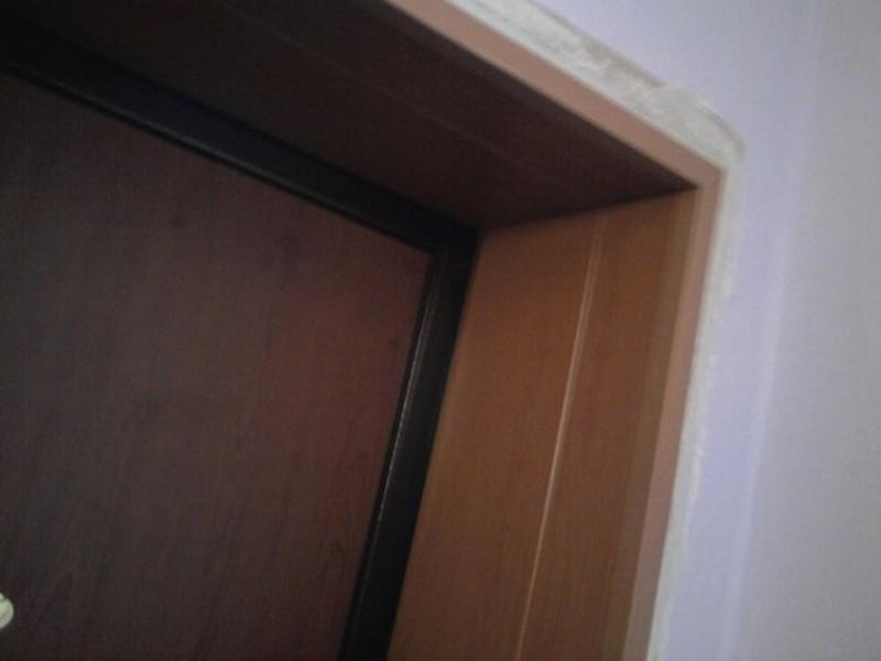 """Як зробити відкоси вхідних дверей """" строительный портал."""