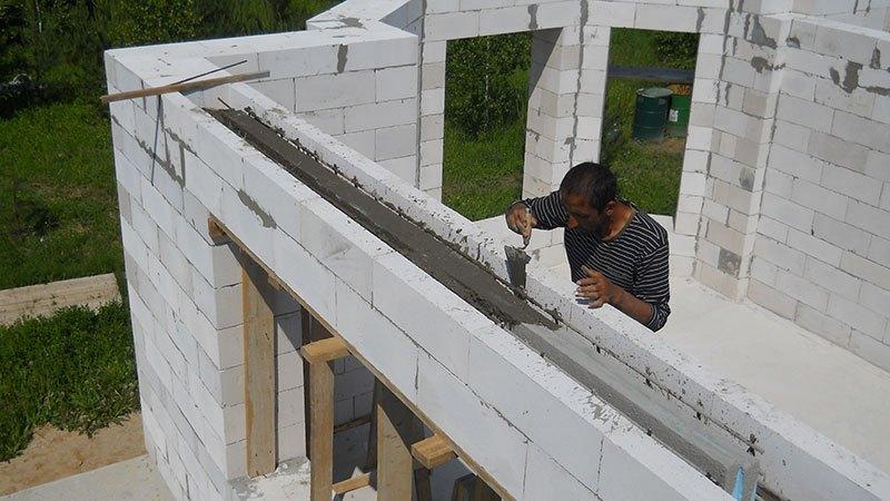 Пеноблок окна как сделать