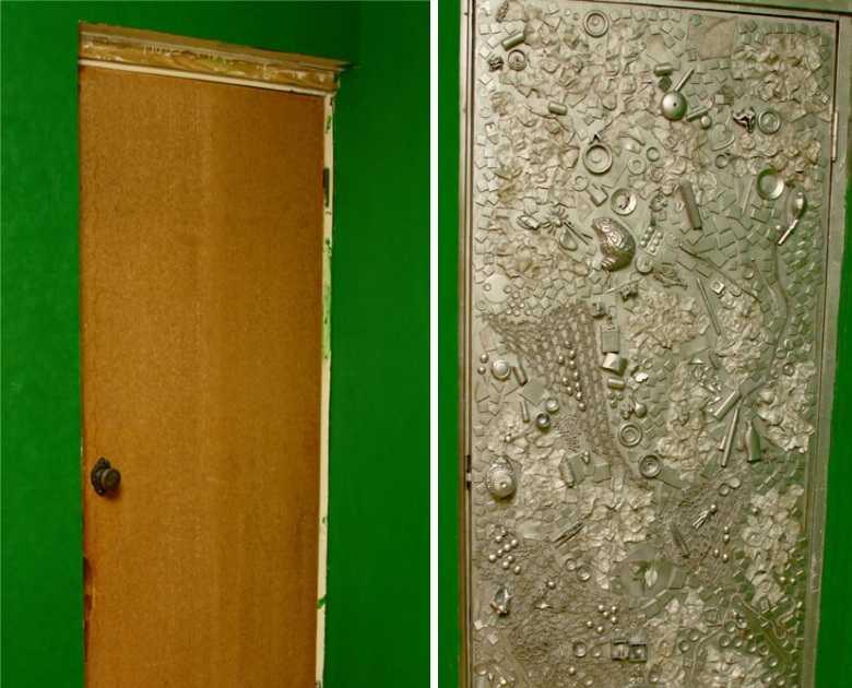 Как обновить деревянную дверь своими руками 243