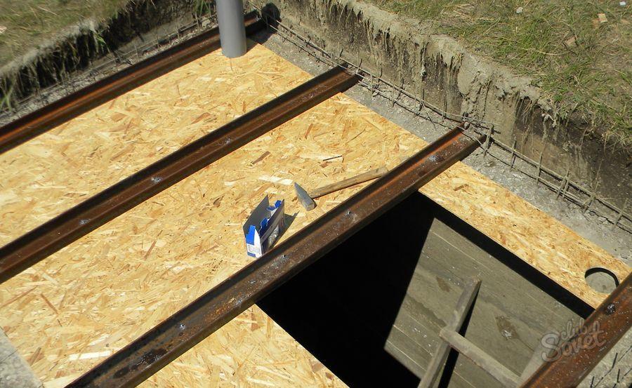 Как сделать бетонный подвал в гараже 697