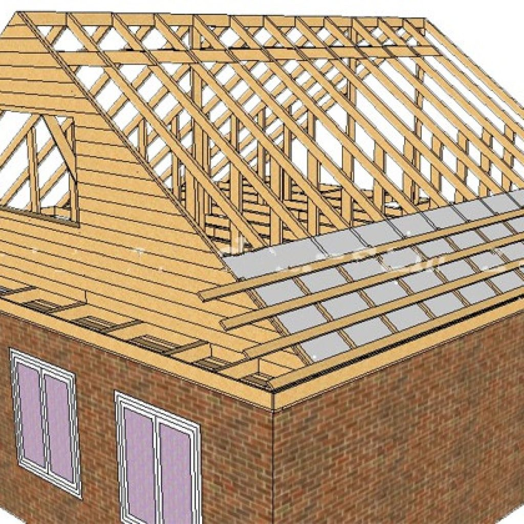 Как сделать крышу своими руками: пошаговое руководство к 51