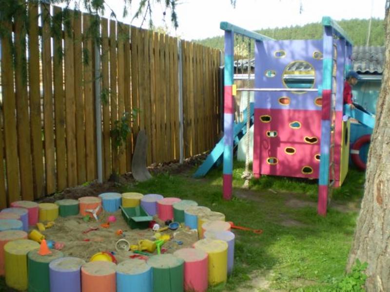 Идеи детских площадок для дачи своими руками 232